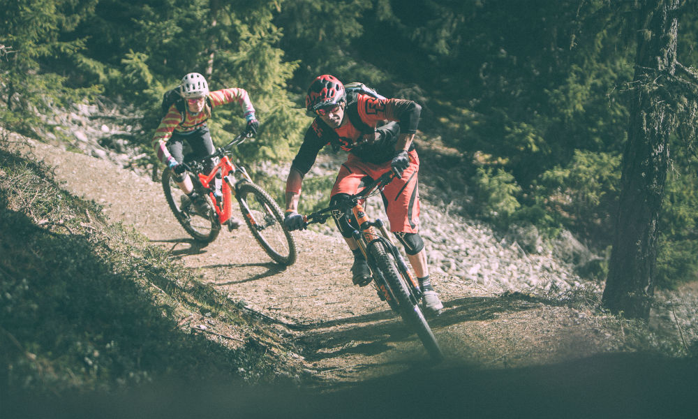 a8971325 Mountainbike in South Tyrol, on the Plose › Plose