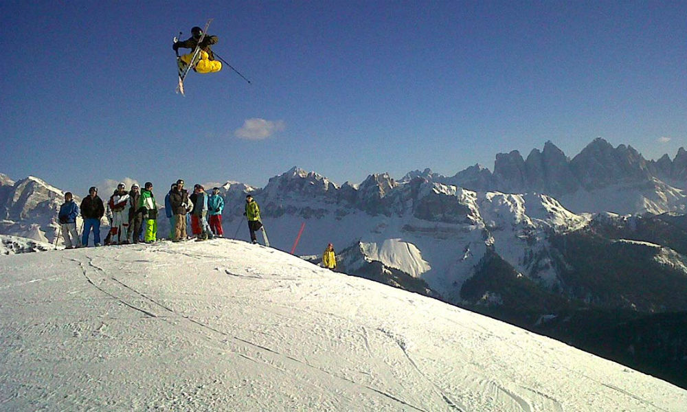 The snowpark on the sunny side of the Alps: Funpark Plose