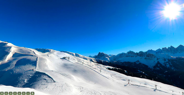 Skigebiet Plose – interaktives 360° Panorama