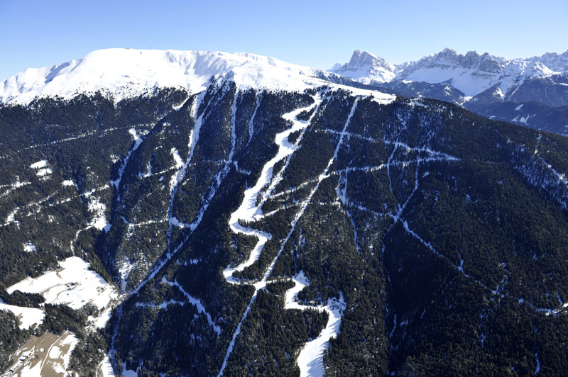 Among the best slopes in South Tyrol is also the Plose Plose
