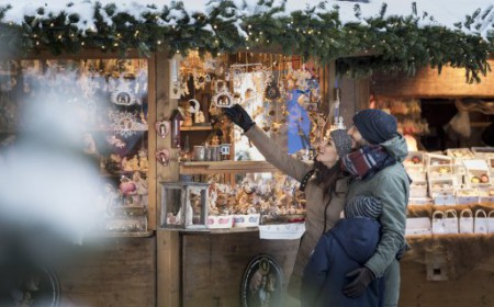 Christmas market and light show in Brixen Bressanone